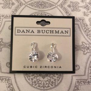 Small Drop Earrings Cubic Zirconia